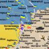 Вблизи Горловки произошло боестолкновение сил АТО и боевиков (КАРТА АТО)