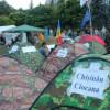 Молдавские «майдановцы» обживаются: утепляют палатки, завели парикмахера