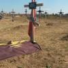 Кладбище с безымянными могилами в Донецке разрастается до невиданных масштабов