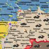 Боевики накрыли огнем Дзержинск (КАРТА АТО)