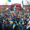К забастовке присоединились студенты Университета им.Шевченко