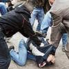 «Титушки» в Днепропетровске разгромили Евромайдан. Людей жестоко избили