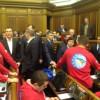 Рыбак после выступления Азарова в Раде распустил депутатов на две недели