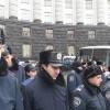 Евромайдановцы мирно заблокировали митинг Партии Регионов. ФОТО