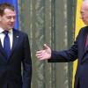 Встреча Азарова и Медведева длилась 5 минут