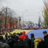 100 тысяч человек пошли на Межигорье