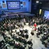 Погибших на Грушевского почтили минутой молчания на Всемирном экономическом форуме в Давосе