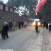 Сегодня  автомайдан заглянул «в гости» к расскошному имению Захарченка