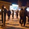 Выход с Майдана заблокирован «титушками»