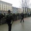 Коммунальщики пытались разобрать одну из баррикад Майдана (ФОТО)