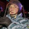 Как «несуществующий Беркут» крушил машину Автомайдана (ВИДЕО)