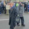 Как убегали «киевляне», пришедшие разбирать баррикады (ФОТО)