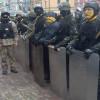 «Беркутовцы» начали штурм баррикад самого Майдана на Институтской