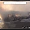 В Киеве на Троещине взорвался пассажирский автобус (ВИДЕО)