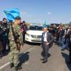 Крымские татары прорвали границу ради пропуска на полуостров Мустафы Джемилева