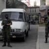 В Луганске неизвестные похитили инкассаторскую машину с миллионом гривен и машину ГАИ