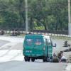 Появилось видео нападения на колонну пограничников в Мариуполе (ВИДЕО)