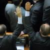 Рада не смогла внести в повестку дня законопроекты о выборах в парламент