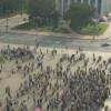 В центре Донецка проходит митинг ДНР, на окраинах идет перестрелка и взрывы (ФОТО)