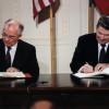 Россия нарушила договор о ракетах, подписанный Горбачевым и Рейганом — США