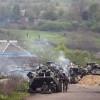 Штаб АТО показал, как десантники проходили с боями более 100 километров к Саур-Могиле (ВИДЕО)