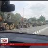 Колонна из военной техники пересекла границу между Россией и Украиной, — пресс-центр АТО