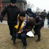 На Манежной площади в Москве уже есть задержанные среди участников антивоенного митинга
