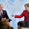 Меркель ждет от Путина объяснений  по поводу «подкрепления для боевиков»