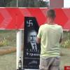 В Украине открыли уголовное дело за «похорон» и надгробие Путина (ФОТО)