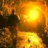 В Луганске горит шахта Ефремова