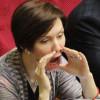 Член «пятой колонны» и регионалка Елена Бондаренко, возмущена АТО и хвалит действия спецназа РФ