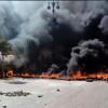 Майдановцы снова подожгли шины на Крещатике (ФОТО+ВИДЕО)