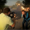 Пока российские «Грады» уничтожают Донбасс, журналисты «RT» снимаются на фоне (ВИДЕО)