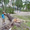 Последствия мощного урагана, который пронесся Украиной (ВИДЕО)