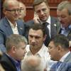 Сессию Киевсовета за день несколько раз прерывали из-за потасовок