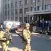 В Славянске активисты устроили митинг у горсовета и требуют люстрации (ФОТО)