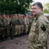 После отъезда Порошенко у солдат забрали новую форму