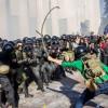 Задержан сын кандидата в нардепы от «Свободы» Захарчука, избивавший цепью правоохранителей под Радой (ФОТО)