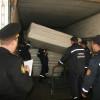 В Харькове разгружены первые 10 машин с гумпомощь