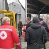 В Днепропетровск прибыла первая партия гуманитарной помощи из Германии (ВИДЕО)
