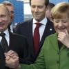 Путину все же удалось добиться встречи с Меркель
