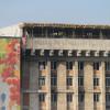 Сгоревший Дом профсоюзов на Майдане ремонтируют с нарушениями (ФОТО)