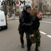 Неизвестные пытались срезать ворота возле Администрации Президента (ФОТО)