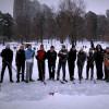 Киевляне в соцсетях объединяются ради игры в хоккей и романтических лыжных пробежек