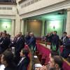 Верховная Рада не приняла закон об СНБО. «Оппозиционный блок» аплодировал стоя