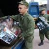 Украинские военные обеспечили продуктами переселенцев в Святогорске (ВИДЕО)