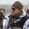 Очередной «донбасский» сепаратист стоит вдоль «поребрика» (ВИДЕО)
