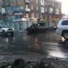 Военная техника в центре Донецка (ФОТОФАКТ)