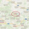 В районе поселка Снежное сегодня зафиксировано передвижение колонны техники террористов с установкой «Бук»