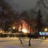 В Харькове горит кафе. Очевидцы говорят о взрыве (ВИДЕО)